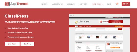Anuncios clasificados con Wordpress